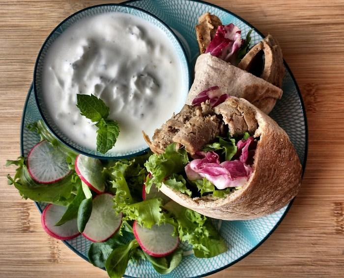 Home-made Doner Kebab