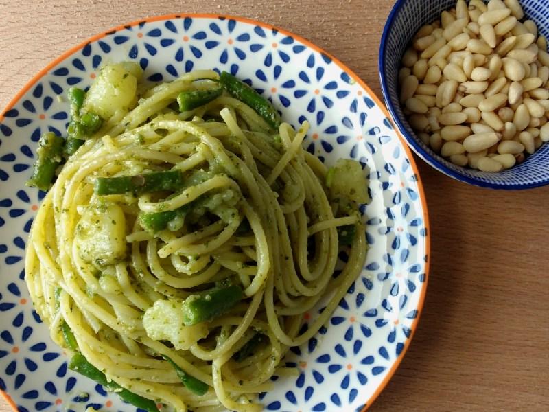Pesto and Trenette alla Genovese