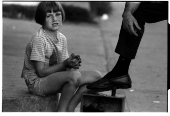 Shoeshine Girl or daddy's little helper?