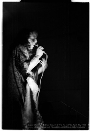 Arthur Brown at the Rockpile 1969 3