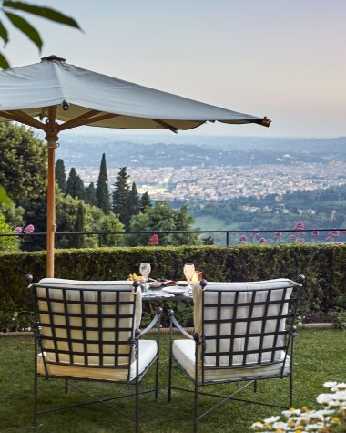 Dinner with a view at the Belmond Villa San Michele