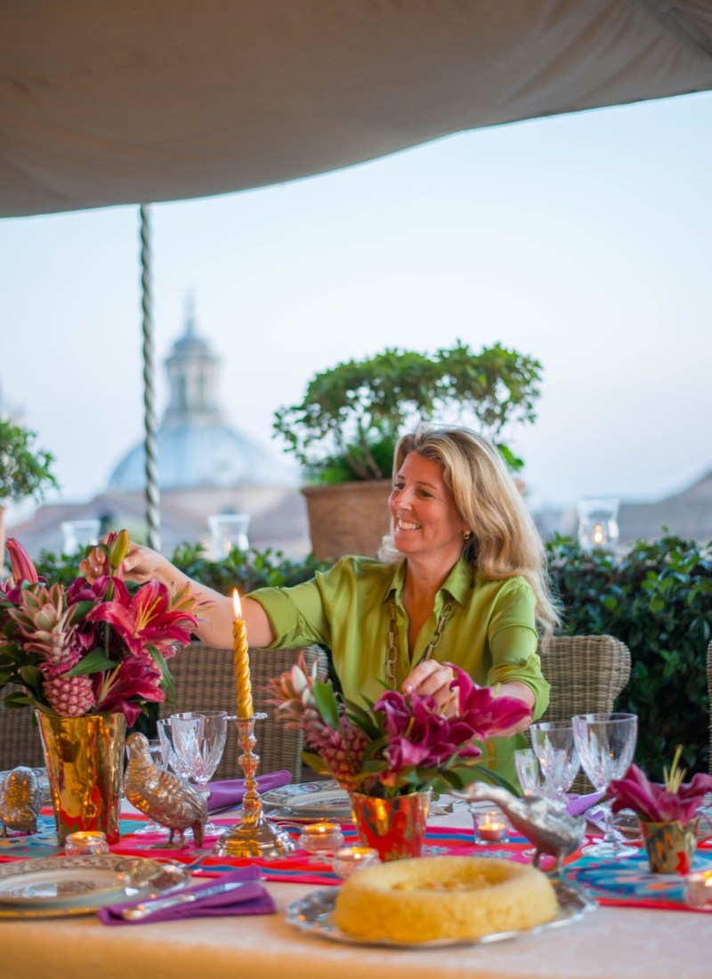 Rooftop Cooking Class with Marchesa Violante