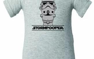Unisex Infant Stormpooper Stormtrooper Onesie