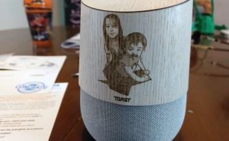 Toast Made custom real wood wraps