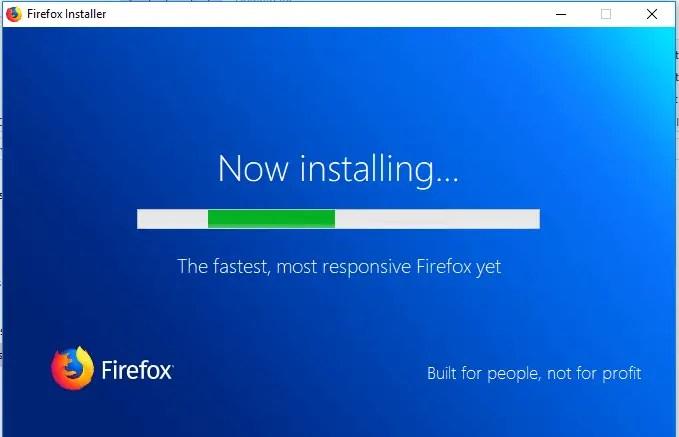 firefox quantum installer