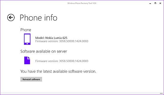 Windows phone stable firmware found