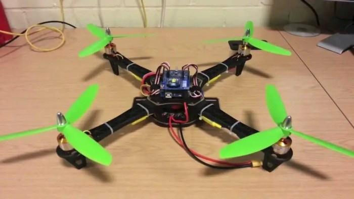 arduino made copter