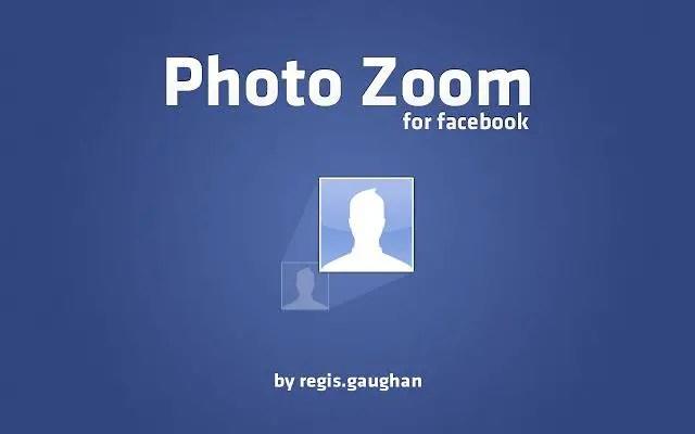photozoom facebook chrome plugin