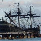 """Avast maties - The """"Black Pearl"""" is in port."""