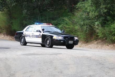 EBRP police car 1 8-22-09