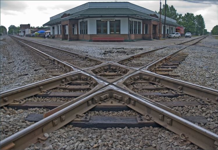 """Crossroads of the Confederacy"" -- The Civil War Railroad Crossroads at Corinth (MS) 2013"