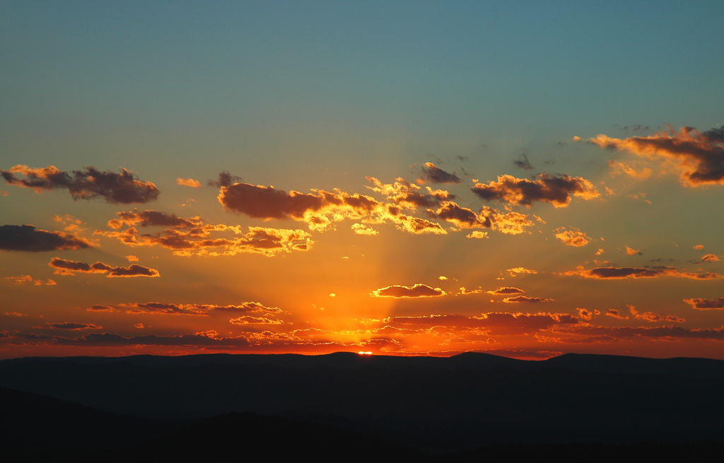 Sunset in Shenandoah 1