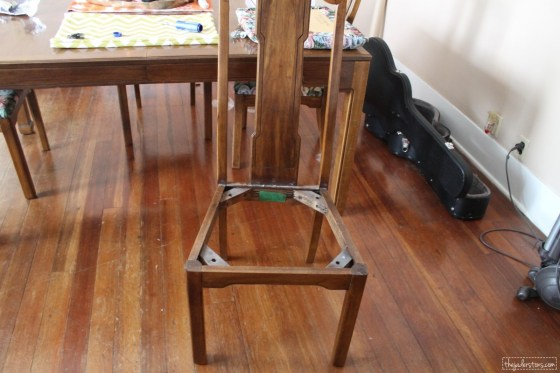Recovering Chairs