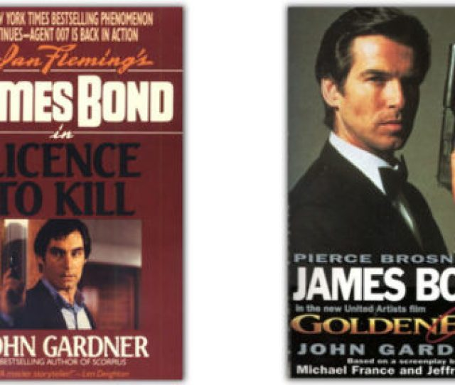 The Bond Novelizations Part Ii Licence To Kill And Goldeneye