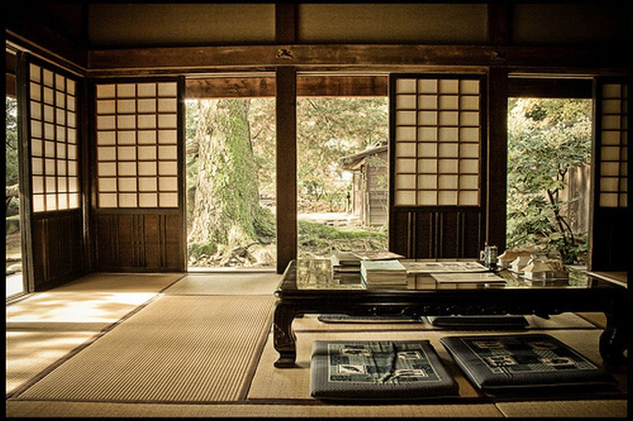 Casa giapponese tradizionale la varie parti for Abitazioni giapponesi