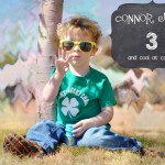 Connor is 3 Today!