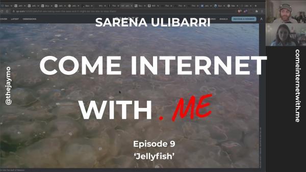 Come Internet With Me Cover Sarena Ulibarri