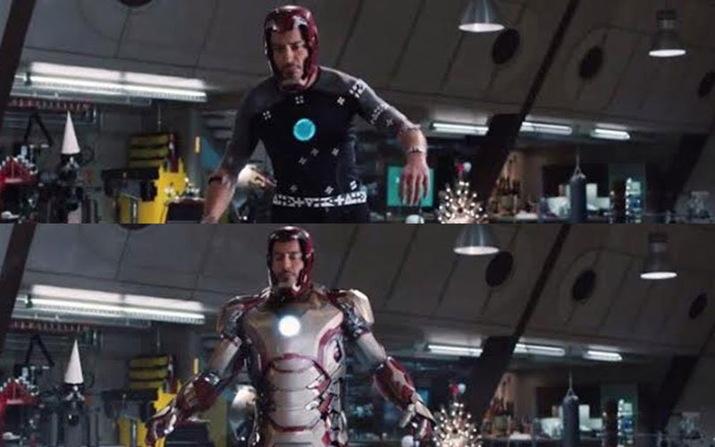 Iron Man Mocap