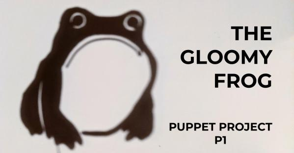 Shadow Puppet of Frog by Matsumoto Hoji