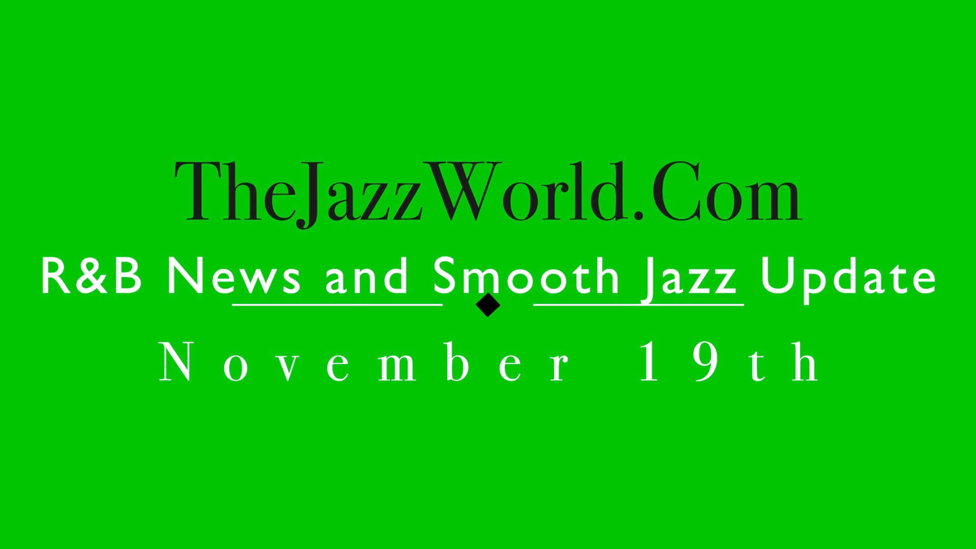 The Jazz World Show 11:19