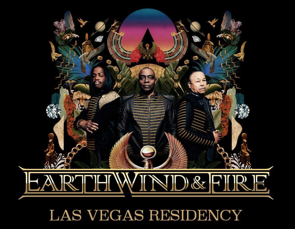 Earth Wind & Fire Live In Las Vegas 2018