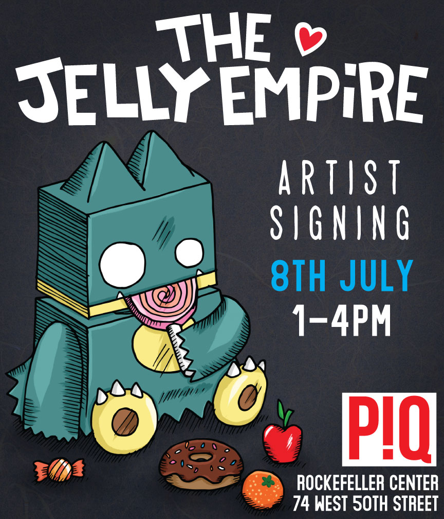 The Jelly Empire x PIQ