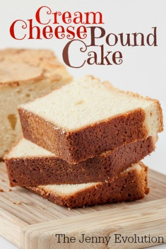 Cream Cheese Pound Cake Recipe | The Jenny Evolution
