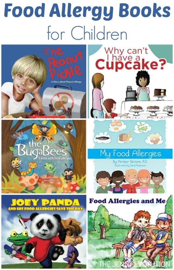 Food Allergy Books for Children | The Jenny Evolution