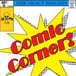 Comic Corner Podcast Logo