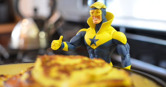 Healthy Pancake Recipe - Booster Gold