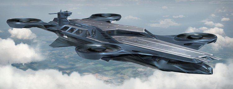 Future of Warfare: Flying Aircraft Carriers…