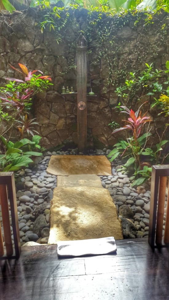 bali outdoor shower