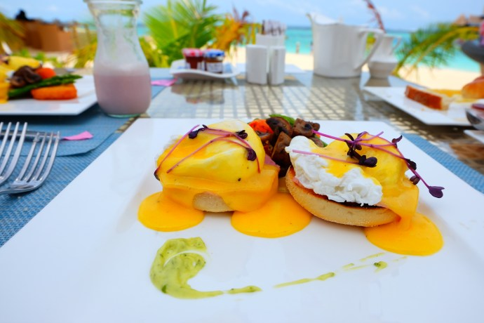 Eggs Breakfast Maldives Jumeirah