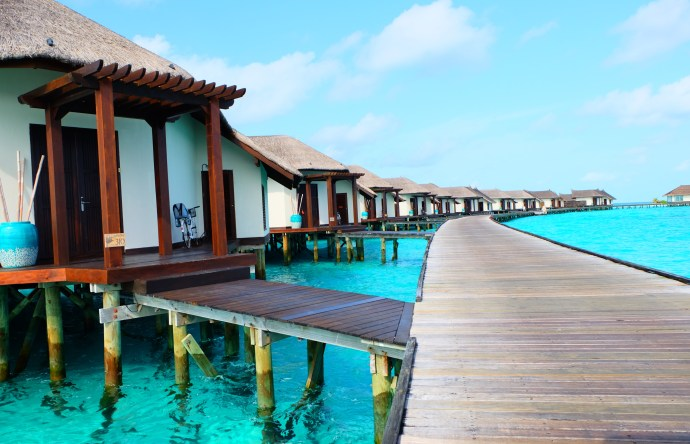 Water Villas at Jumeirah Vittaveli
