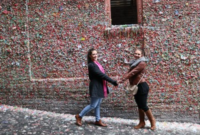 Gum Wall Post Alley