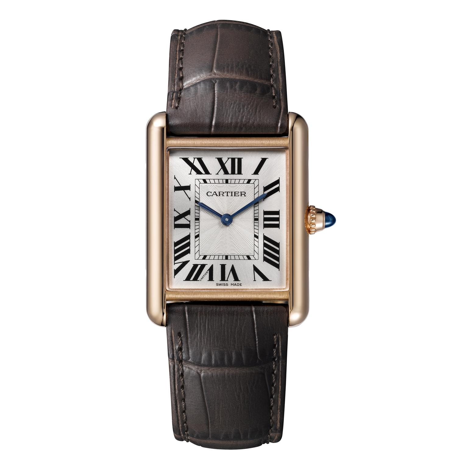 Tank Louis Cartier large watch in pink gold   Cartier   The     Cartier Tank Louis Cartier large pink gold watch