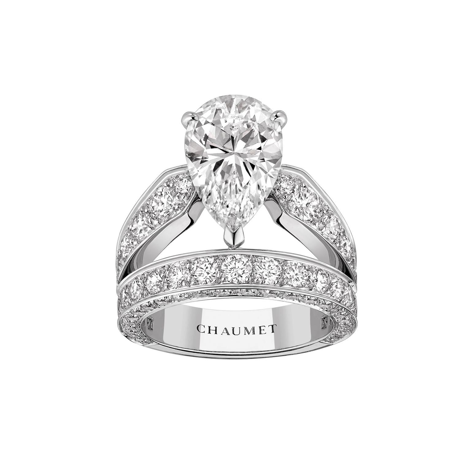 Josephine Aube Printanire Pink Sapphire Engagement Ring