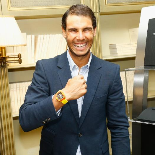 Lucky charm: Rafael Nadal's £700,000 Richard Mille watch ...