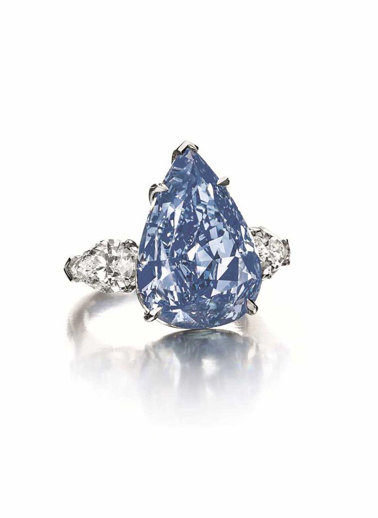 Fancy Vivid Pink Diamond Ring