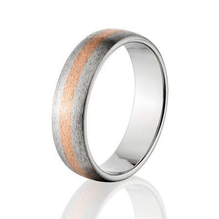 Titanium Wedding Rings Copper And Titanium Wedding Band