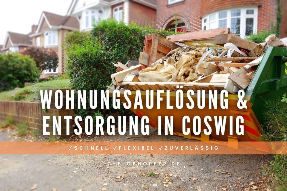 Wohnungsauflösung und Sperrmüll Entsorgung in Coswig