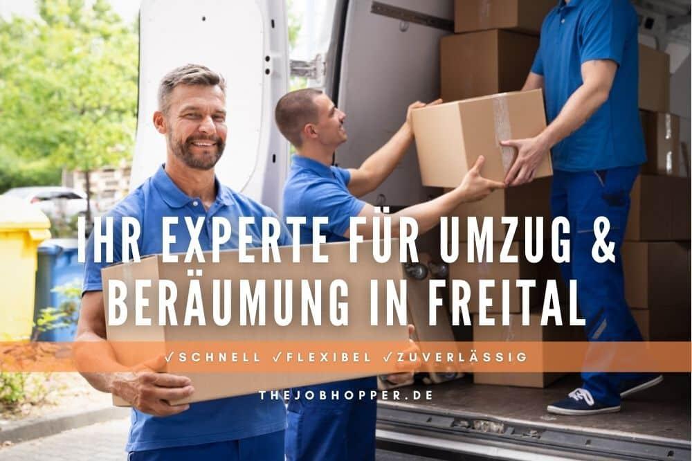 Ihr Experte für Umzug & Beräumung in Freital