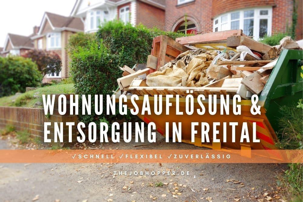 Wohnungsauflösung & Entsorgung in Freital