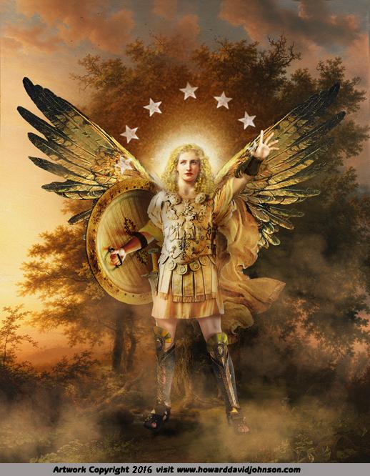 Archangel Guardian of the Sephiroth Tree