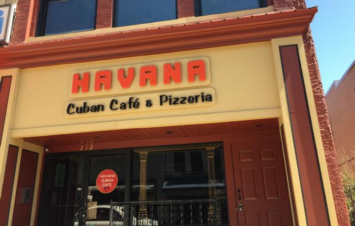Havana Cuban Cafe in Jamestown