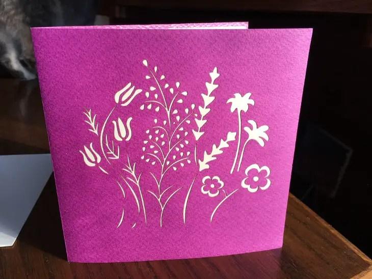 Flower Card Outside