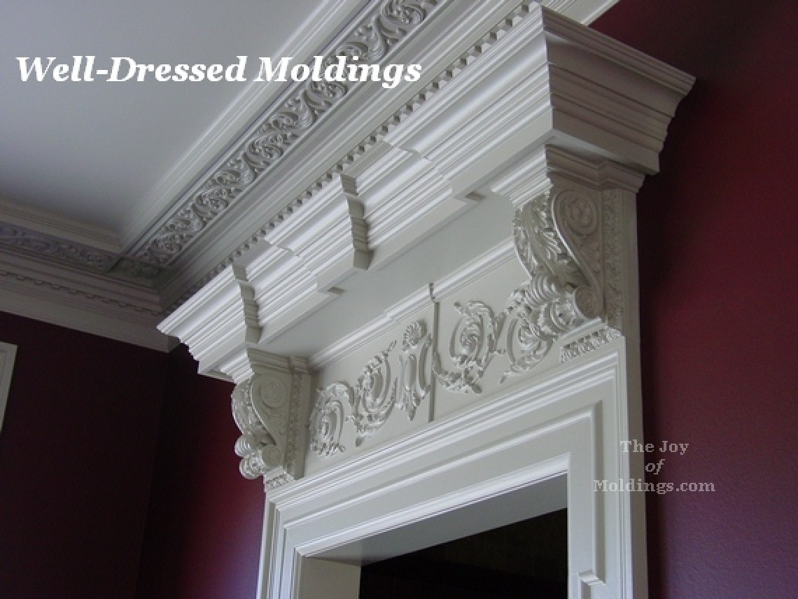 Well-Dressed Moldings