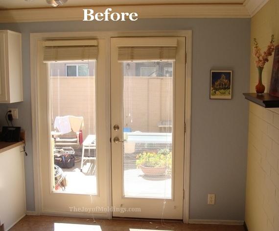 how to install door trim