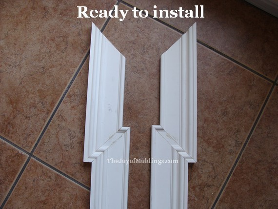 greek revival mdf door trim