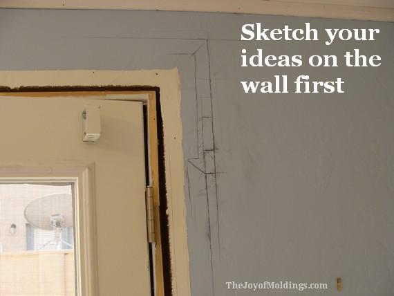 how to install mdf door trim